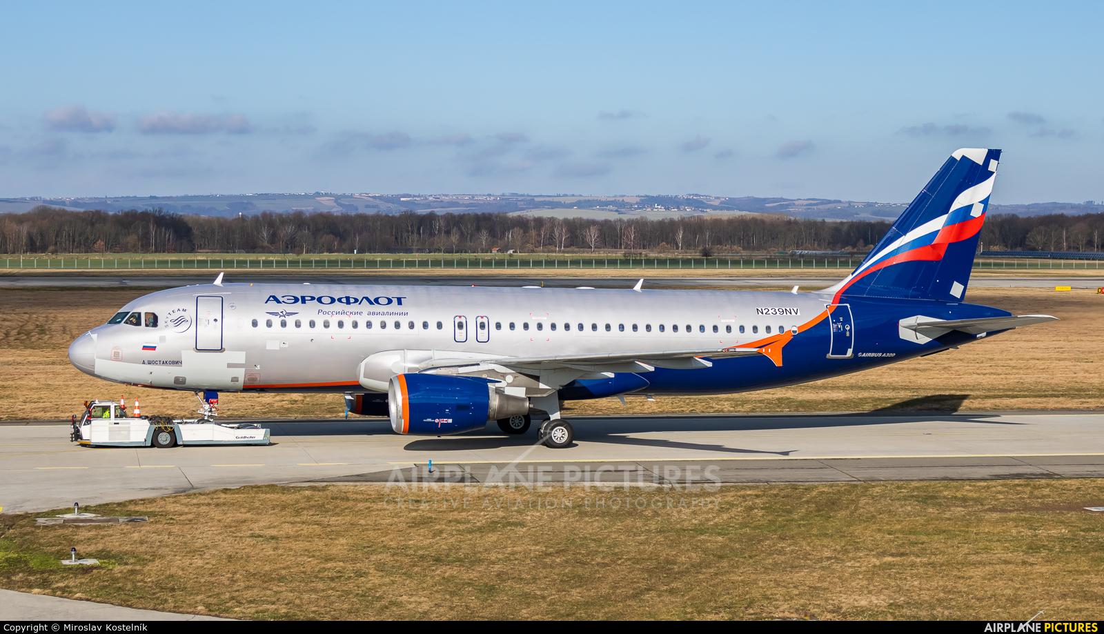 Allegiant Air N239NV aircraft at Ostrava Mošnov