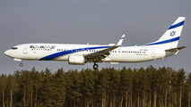 4X-EHD - El Al Israel Airlines Boeing 737-900 aircraft