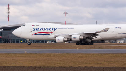 VP-BCR - Silk Way Airlines Boeing 747-400BCF, SF, BDSF