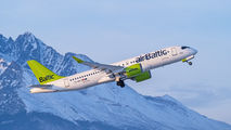 YL-AAT - Air Baltic Airbus A220-300 aircraft