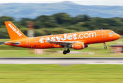 G-EZUI - easyJet Airbus A320 aircraft