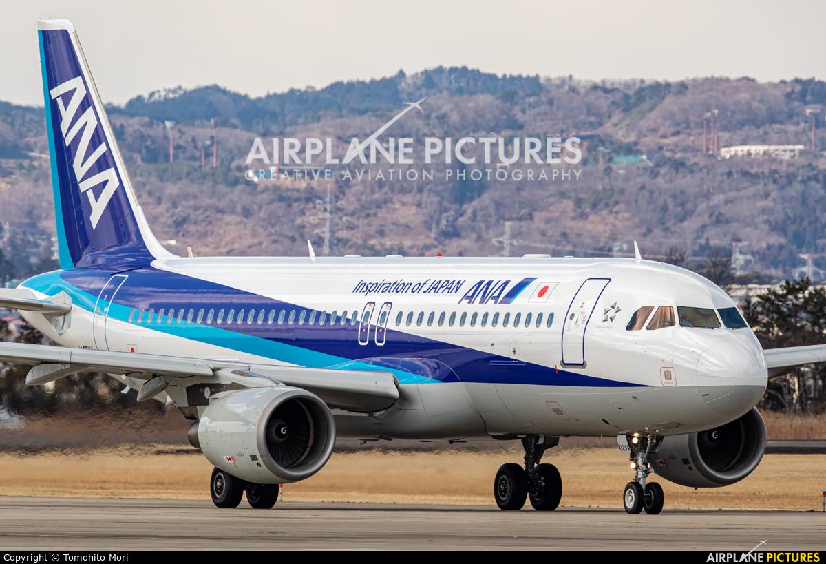 ANA - All Nippon Airways JA02VA aircraft at Sendai