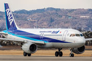 JA02VA - ANA - All Nippon Airways Airbus A320 aircraft