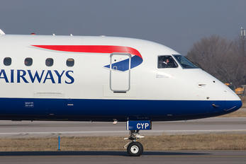 G-LCYP - British Airways - City Flyer Embraer ERJ-195 (190-200)