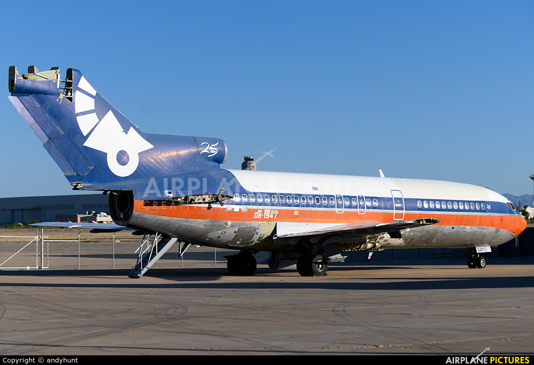 Aeroperu OB-1547 aircraft at Tucson Intl