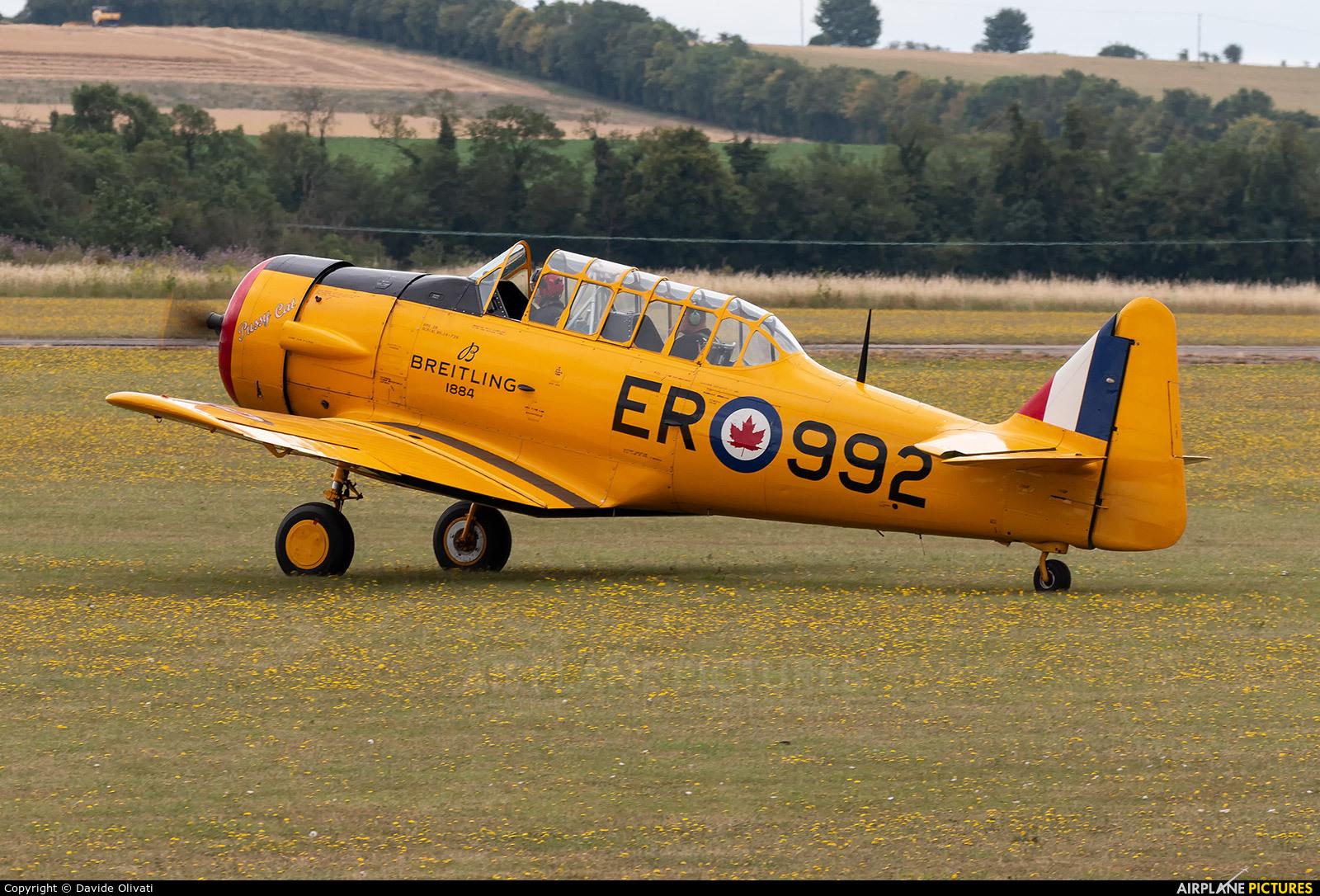 Private G-BDAM aircraft at Duxford