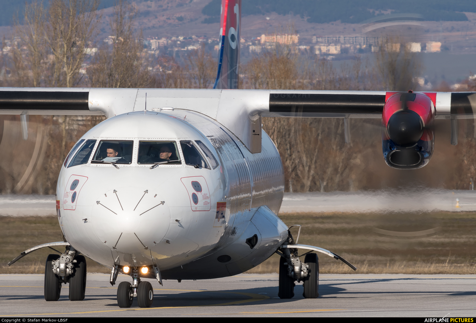 Air Serbia YU-ALO aircraft at Sofia
