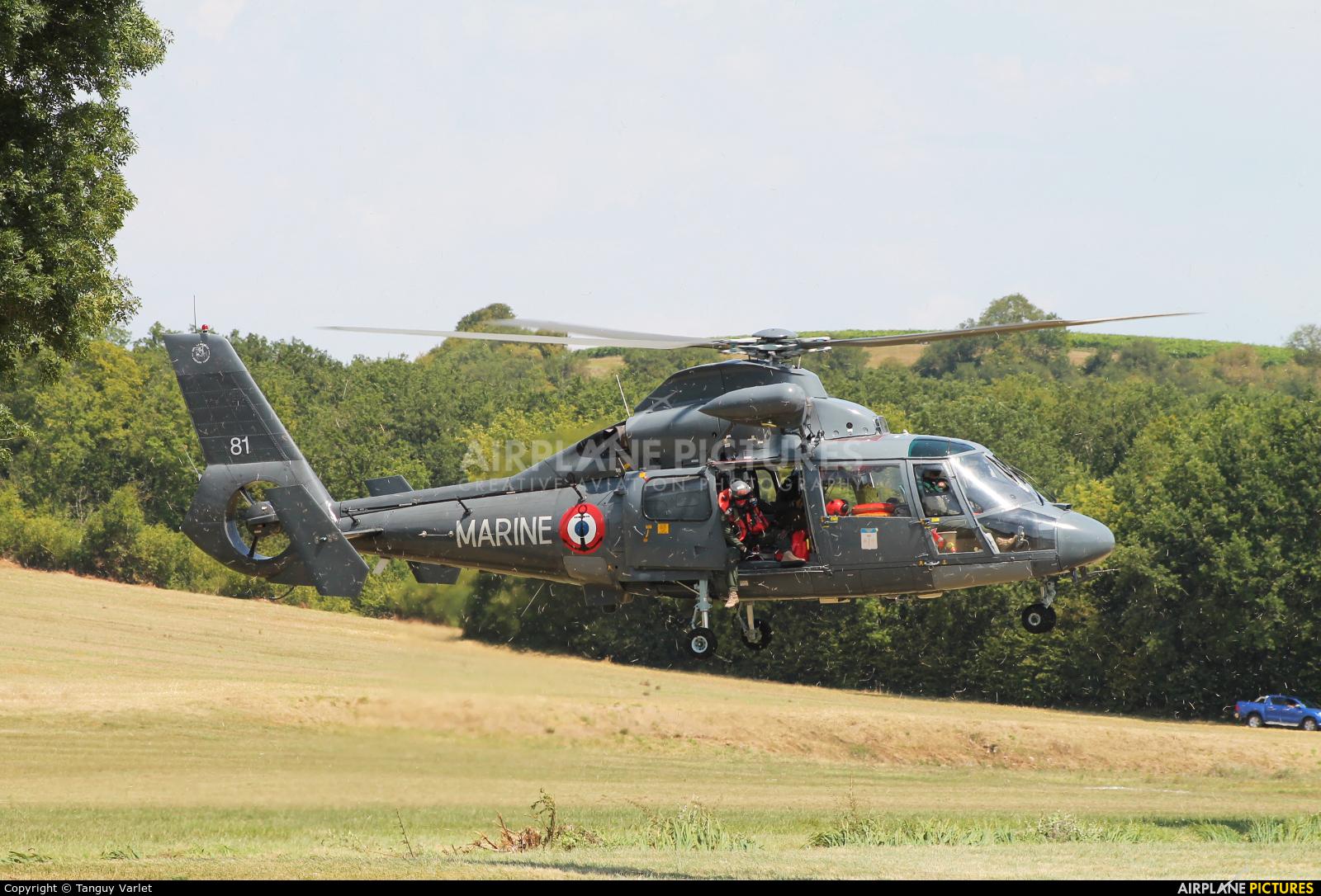 France - Navy 81 aircraft at Off Airport - France