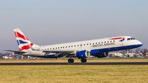 G-LCYR - British Airways - City Flyer Embraer ERJ-190 (190-100) aircraft