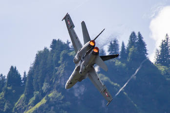 J-5018 - Switzerland - Air Force McDonnell Douglas F-18C Hornet