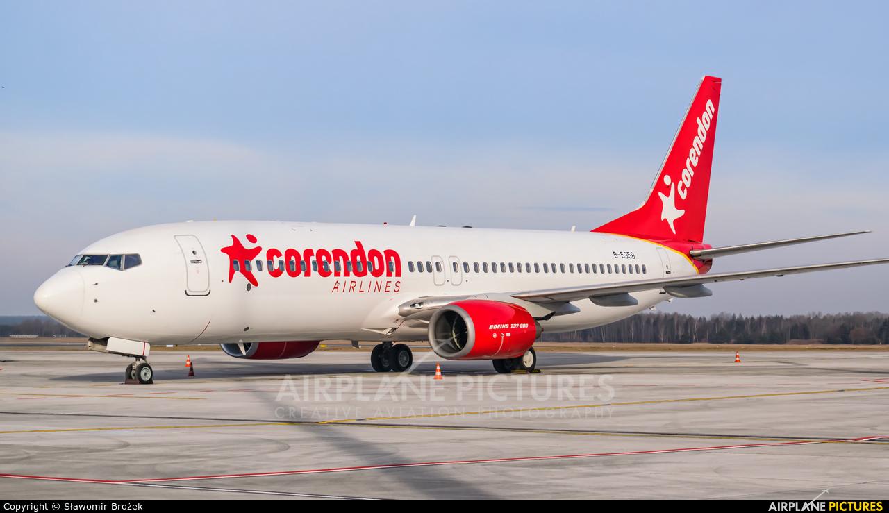 Corendon Airlines B-5358 aircraft at Katowice - Pyrzowice