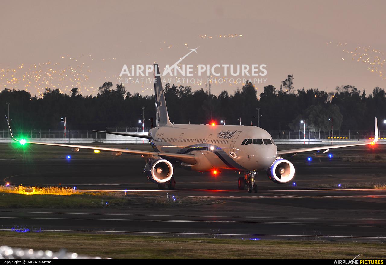 Interjet XA-AJB aircraft at Mexico City - Licenciado Benito Juarez Intl