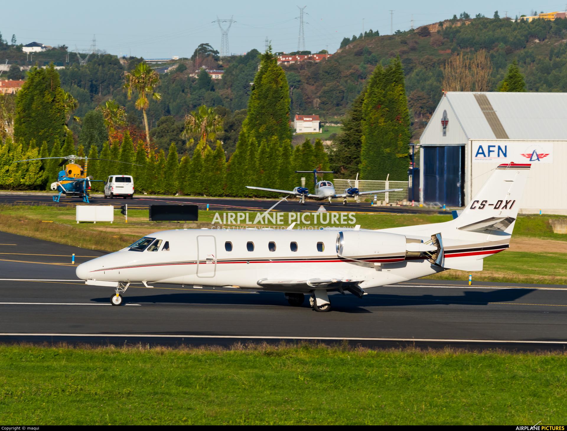 NetJets Europe (Portugal) CS-DXI aircraft at La Coruña
