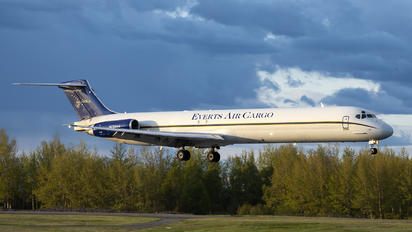 N73444 - Everts Air Cargo McDonnell Douglas MD-82SF