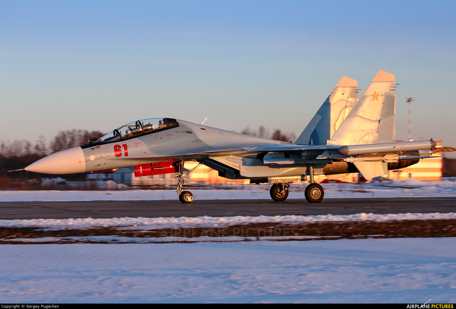 Russia - Air Force 61 aircraft at Undisclosed Location