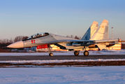 61 - Russia - Air Force Sukhoi Su-30SM aircraft