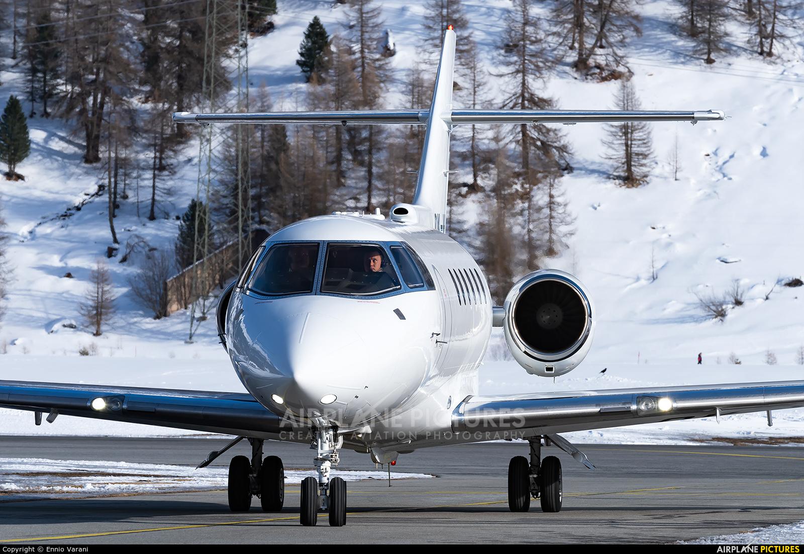 Private OK-HWL aircraft at Samedan - Engadin