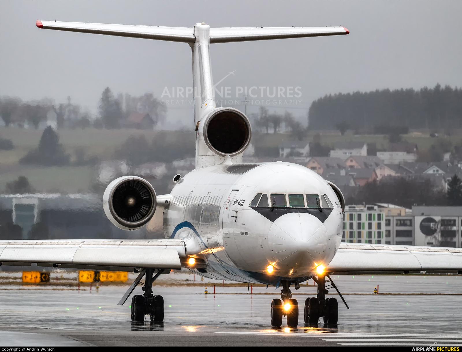 Sirius-Aero RA-42423 aircraft at Zurich