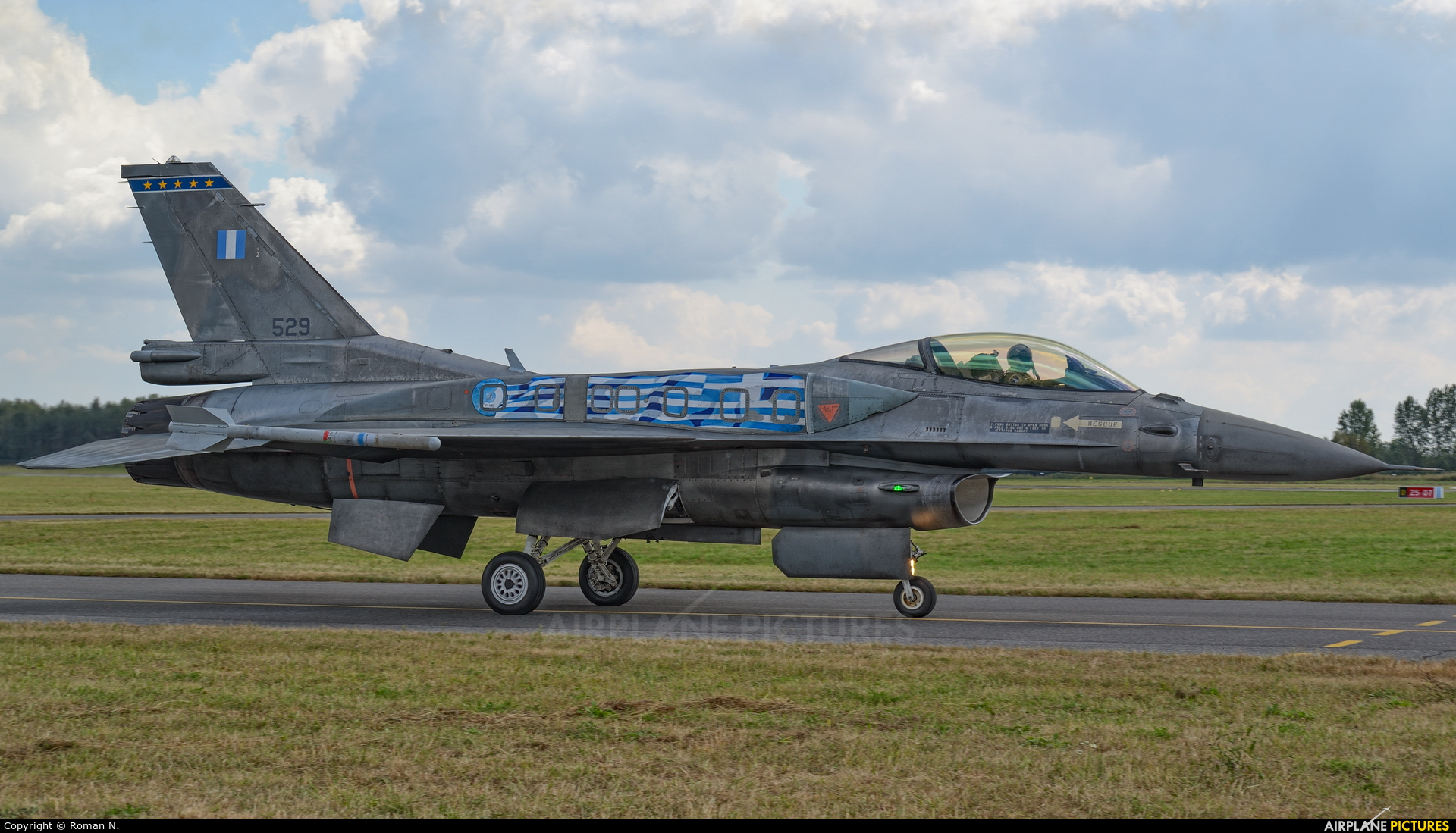 Greece - Hellenic Air Force 529 aircraft at Radom - Sadków