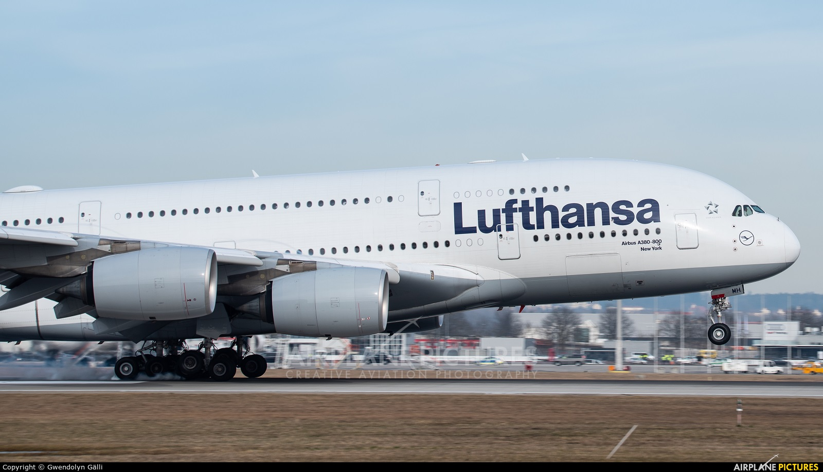 Lufthansa D-AIMH aircraft at Munich