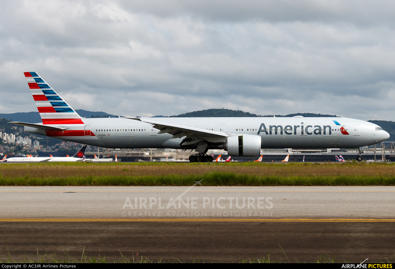 American Airlines N721AN aircraft at São Paulo - Guarulhos
