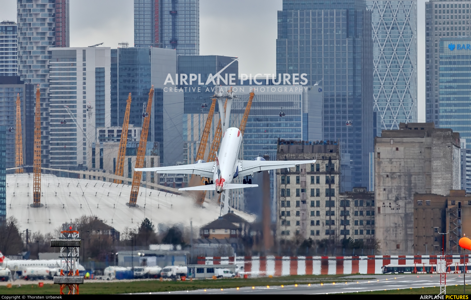 British Airways - City Flyer G-LCYS aircraft at London - City