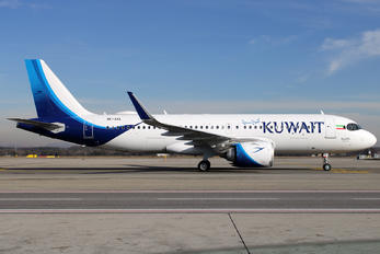 9K-AKL - Kuwait Airways Airbus A320 NEO