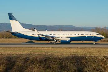 N502BJ - Private Boeing 737-800 BBJ