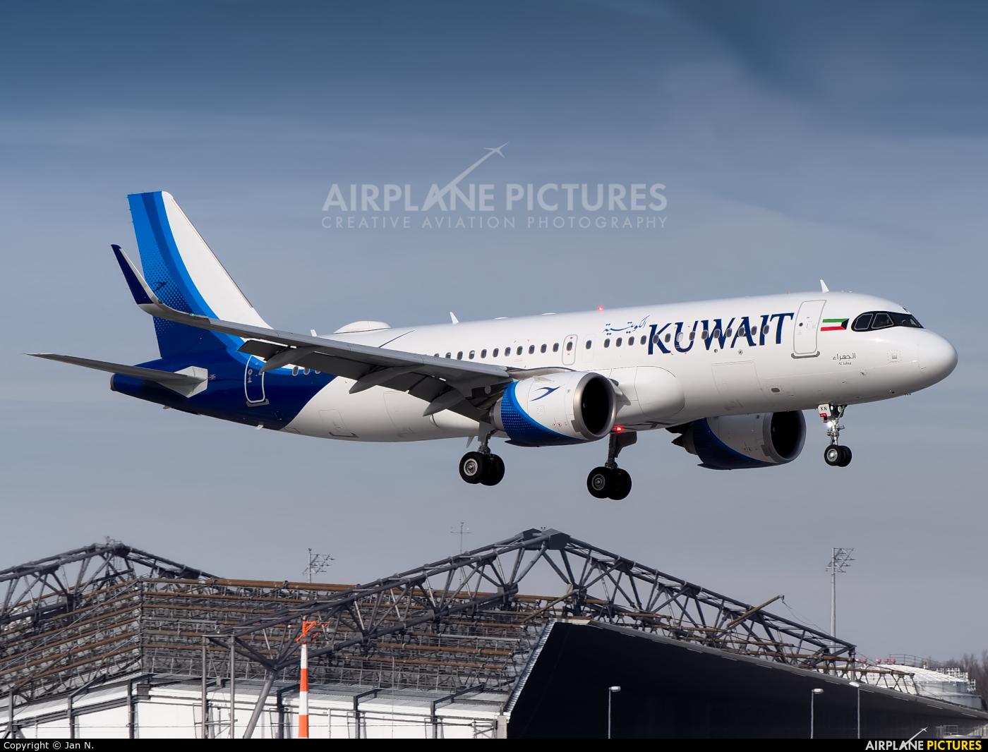 Kuwait Airways 9K-AKN aircraft at Munich