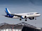 9K-AKN - Kuwait Airways Airbus A320 NEO aircraft
