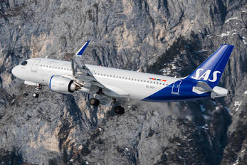 SE-ROY - SAS - Scandinavian Airlines Airbus A320 NEO