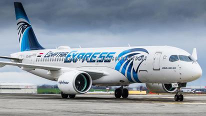 SU-GEX - Egyptair Express Airbus A220-300