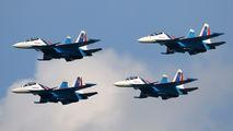 """RF-81703 - Russia - Air Force """"Russian Knights"""" Sukhoi Su-30SM aircraft"""