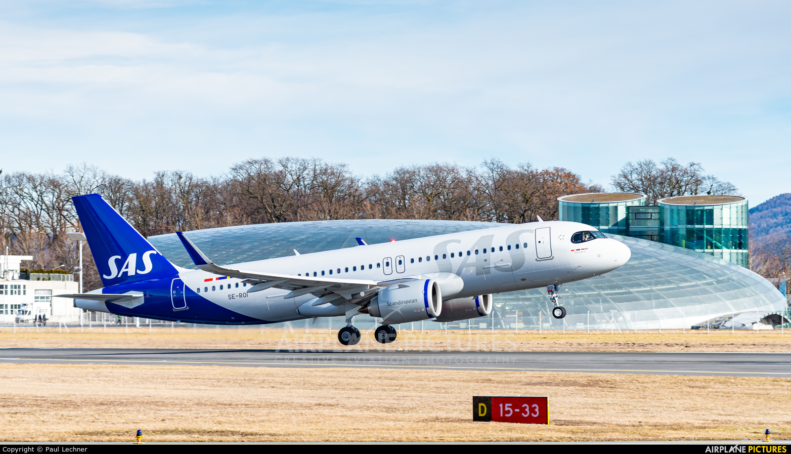 SAS - Scandinavian Airlines SE-ROI aircraft at Salzburg