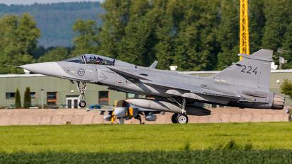 224 - Sweden - Air Force SAAB JAS 39C Gripen