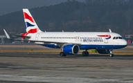 G-TTNJ - British Airways Airbus A320 NEO aircraft