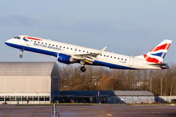 G-LCYP - British Airways - City Flyer Embraer ERJ-195 (190-200)