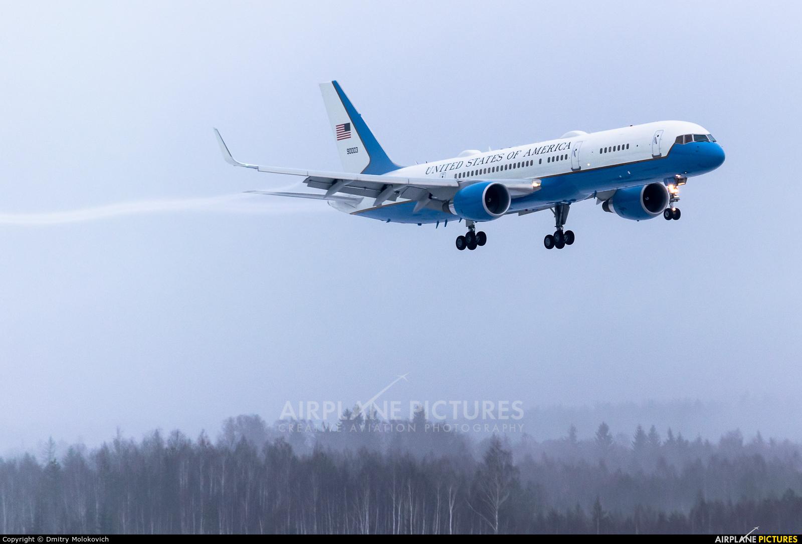USA - Air Force 99-0003 aircraft at Minsk Intl