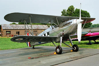 OO-HFU - Private Hawker Fury