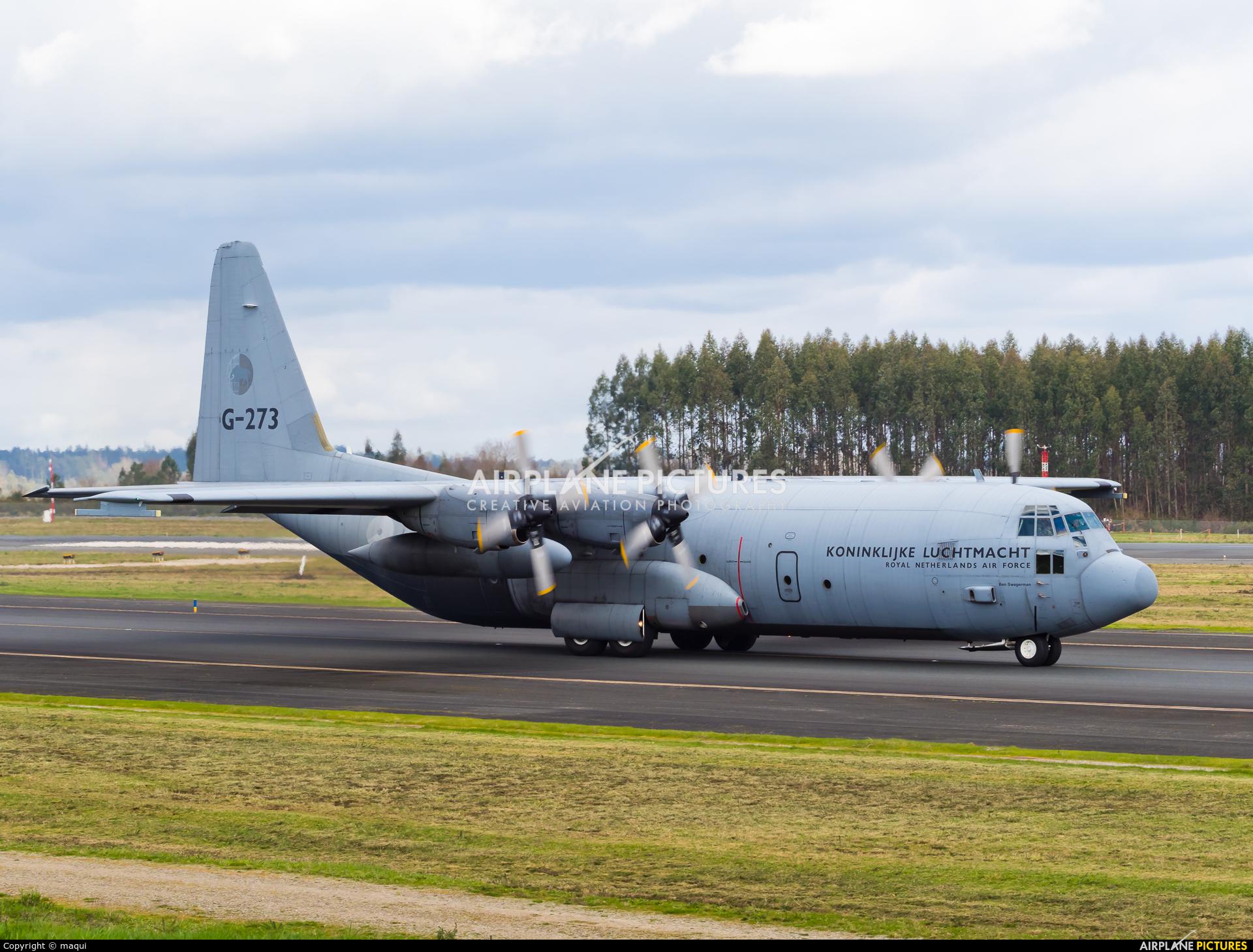 Netherlands - Air Force G-273 aircraft at Santiago de Compostela