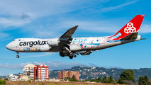 Cargolux B748 visited Guatemala title=