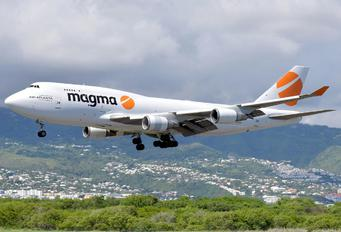 TF-AMR - Magma Aviation Boeing 747-400BCF, SF, BDSF