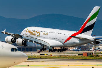 A6-EOY - Emirates Airlines Airbus A380