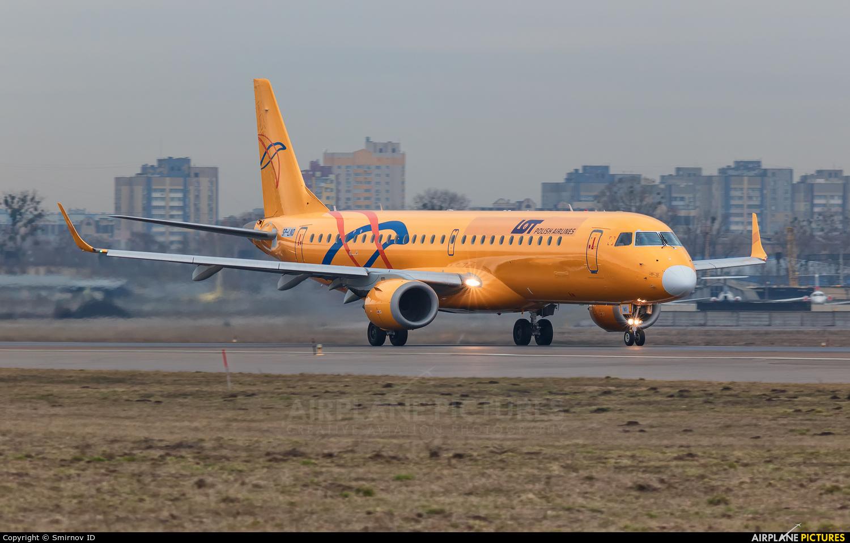 LOT - Polish Airlines SP-LNO aircraft at Kyiv - Zhulyany