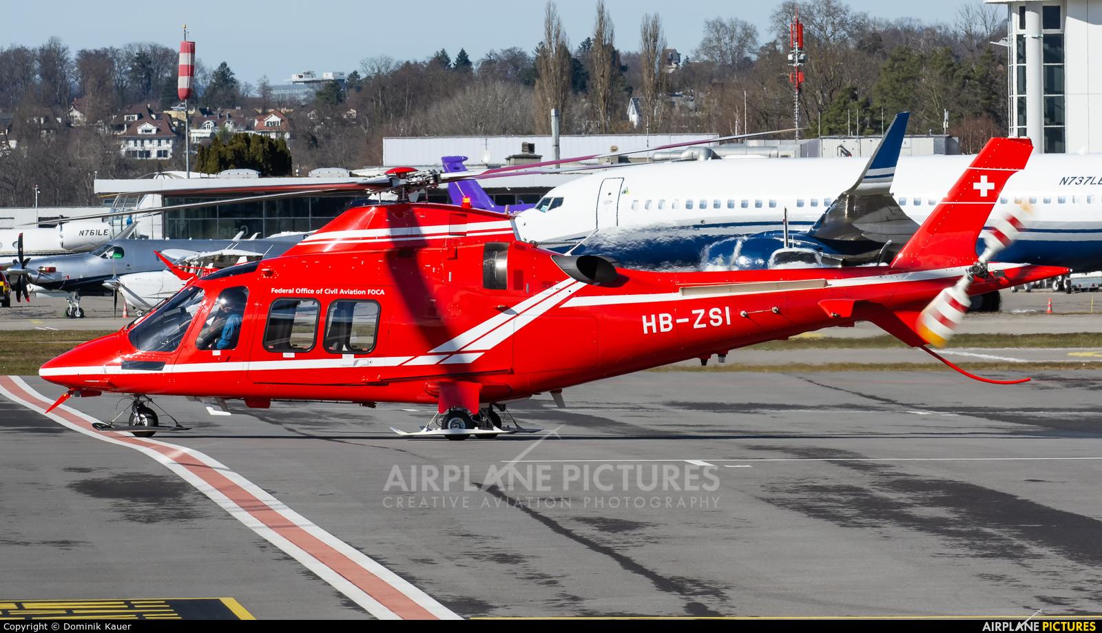 Swiss Federal Office for Civil Aviation HB-ZSI aircraft at Bern - Belp