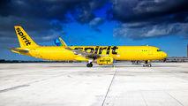 N673NK - Spirit Airlines Airbus A321 aircraft