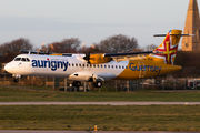 New livery of Aurigny Air Services with new ATR72 title=