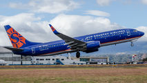 Sun Country B738 visited San Jose title=
