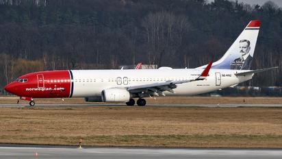 SE-RRZ - Norwegian Air Sweden Boeing 737-800