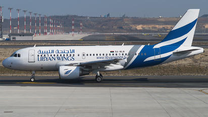 5A-WLB - Libyan Wings Airbus A319